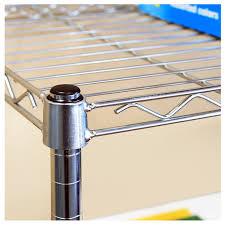 5 Shelf Wire Shelving 5 Shelf Shelving System Steel Wire Shelves Storage Rack Kitchen