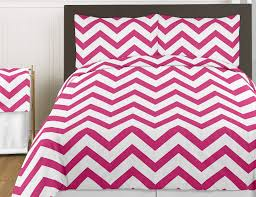 teen girls twin bedding pink white large chevron print bedding set teen zig zag