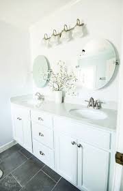 Oval Mirrors For Bathroom How To Hang A Frameless Oval Mirror Pretty Handy