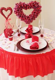 Valentine S Day Table Decorations by Plan A Romantic Valentine U0027s Party By Choosing Extraordinary Table