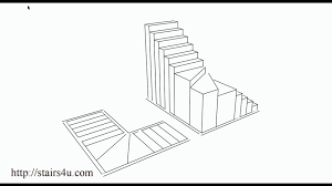 what is a winder stairway u2013 floor plan and three dimensional