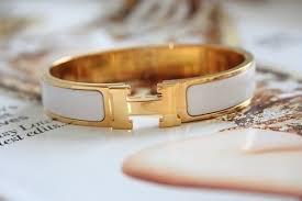 hermes bracelet white images Authentic hermes bracelet your europe shopper jpg
