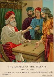 garden of praise parable of the talents bible story