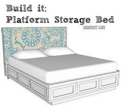 Platform Bed California King Diy King Platform Bed How To Build A Cal King Platform Bed Frame