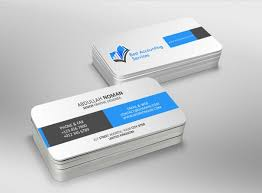 Best Business Card Company Business Card Design For Best Accounting Services Pty Ltd By
