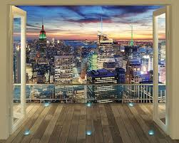 walltastic 8 x 10 ft the view collection new york city skyline walltastic 8 x 10 ft the view collection new york city skyline wallpaper mural