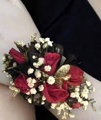 and black corsage corsages boutonnieres wrist corsages willoughby oh