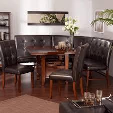 bar height table set blue and white vases slat back chair barrel