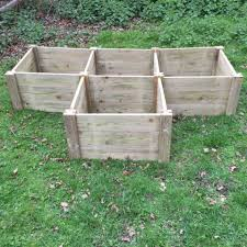 t shaped raised bed