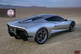 corvette mid engine mid engine c8 corvette imagined with hre wheels gm authority