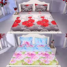 Bedsheets Floral Range 5 Digitally Printed Bedsheets By Signature Bed