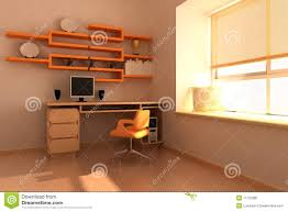 modern study room royalty free stock photo image 11122985