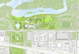 former president barack obama unveils proposed obama center design
