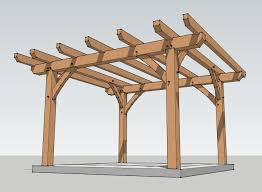 Pergola Free Plans by Endearing Pergola Plans Free Howtoist How To Build Step By Step