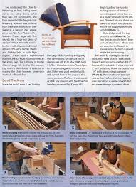 Morris Chair Plans Howtospecialist How by