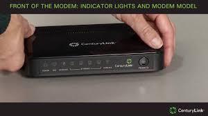 centurylink internet light red tour of modem front of the modem youtube