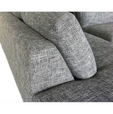 canape angle tissus canapé d angle tissu gris hailey