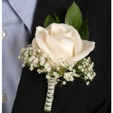 boutonnieres for wedding classic ivory boutonniere corsage wedding package 250 my