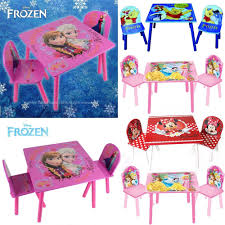 disney princess frozen furniture table and chairs set children disney princess frozen furniture table and chairs set children kids new free pp