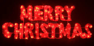 vickysun com animated 160cm led red green merry christmas sign