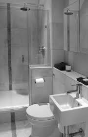 Waterfall Shower Designs Bathroom Dark Brown Wood Mirror White Waterfall Shower White