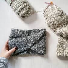 knitted headband pattern knit turban headband simplymaggie