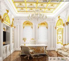 Luxurious Decorative Element Rococo Interior Design Style
