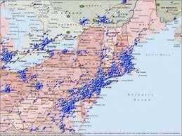 map us northeast northeastern us political map by freeworldmapsnet east usa