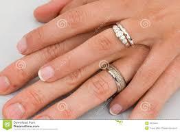 wedding rings on wedding rings on stock photo image of gold 4973444