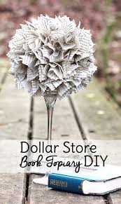 dollar store diy home decor upcycle an old book into dollar store home decor diy dollar