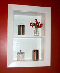 Recessed Bathroom Shelving Uncover Space Make Recessed Shelves In Your Bathroom
