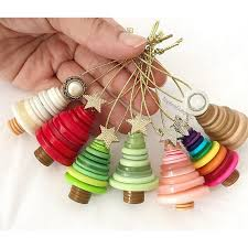 tree ornaments colorful button christmas tree ornaments christmas ornaments