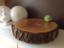 rustic wedding cake stands wood slice wedding cake stands wood rounds stump cake stand