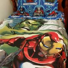 Marvel Double Duvet Cover Marvel Avengers Assemble Age Of Ultron Single Bed Flatsheet Quilt