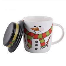 weird coffee mugs online shop cartoon santa snowman ceramic christmas coffee mug set
