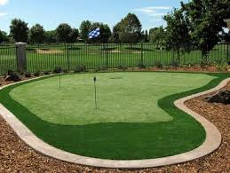 Building A Backyard Putting Green by Putting Greens Redding California