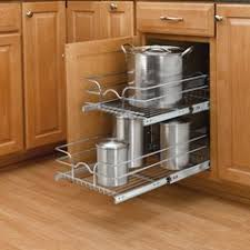 kitchen base cabinets 18 inch depth 12 pull out basket chrome 5wb2 1218cr 1