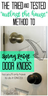 how to paint kitchen door knobs remodelaholic how to upgrade door knobs with spray paint