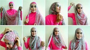 tutorial hijab turban ala april jasmine tutorial hijab pashmina instagram hijab style 6