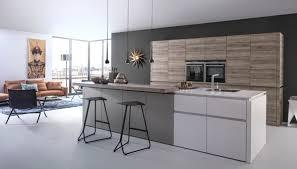 cuisine bois gris moderne cuisines cuisine bois deco idee cuisine grise moderne astuces et