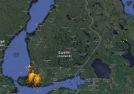 Lightning Maps Ukkoset Puskevat Maakuntaan Seuraa Salamointia Reaaliajassa Tästä