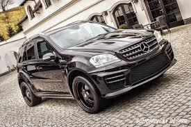 mercedes jeep 2015 black black on black mercedes benz w164 ml class mae wheels benztuning