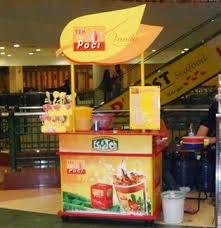 Teh Racek usaha kecil yang menjanjikan dengan bisnis franchise teh poci