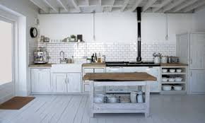 industrial inspired kitchen garage wall colours