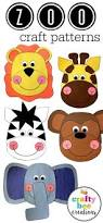 106 best zoo animal crafts images on pinterest zoo animal crafts