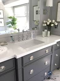 best paint for oak bathroom cabinets the 6 best paint colours for a bathroom vanity including