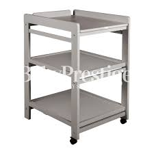 Metal Changing Table Quax Changing Table Comfort On Wheels Griffin Gray Changing