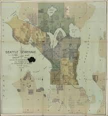 Maps Seattle File Seattle Sewer Districts 1894 Jpg Wikimedia Commons