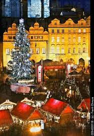 christmas at wenceslas square prague czechia i love that this is