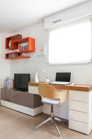 bureau dans salon grande pièce à vivre avec bureau salon salle à manger
